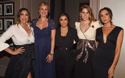 María Bravo celebrated the ninth edition of The Global Gift Gala London with Eva Longoria, Victoria Beckham, Alesha Dixon, Mel C, Holly Branson, Lorena Bernal and HRH Princess Beatrice of York, among others