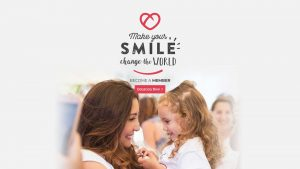 Make your smile change the world - Become a Member