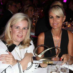 Laeticia Hallyday & Chef Hélène Darroze