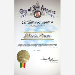 Recognition of Los Angeles County Councilor District 13