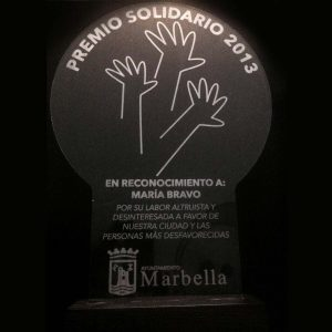 Recognition of the Marbella City Council