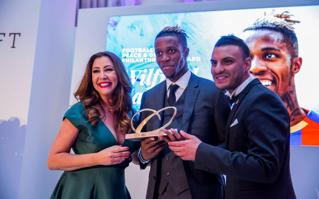 "Maria Bravo and The British Football Elite Celebrated The 1st Edition of ""Football For Peace by Global Gift"""