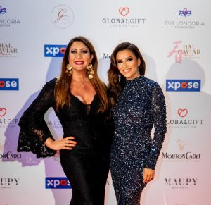 Eva Longoria and Maria Bravo Celebrate The 8th Global Gift Initiative Cannes Alongside to Gary Dourdan and Lara Fabian