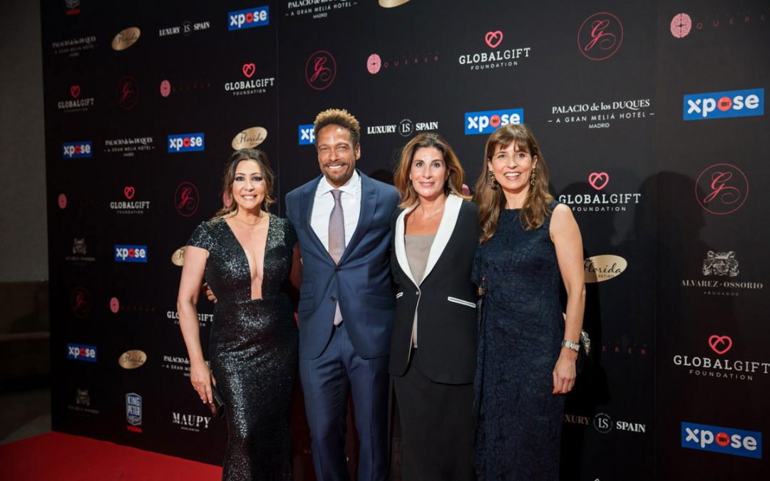 María Bravo, Together with The Award-Winning Gary Dourdan, Made a Call For Solidarity at The IV Global Gift Gala Madrid