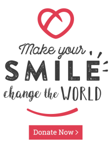 Make your Smile Change the World, Donate Now