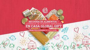 Campaña Recogida Alimentos Casa Global Gift