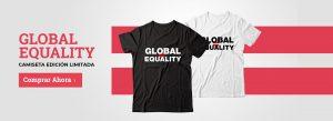 Global Equality Camisetas Limitadas Solidarias