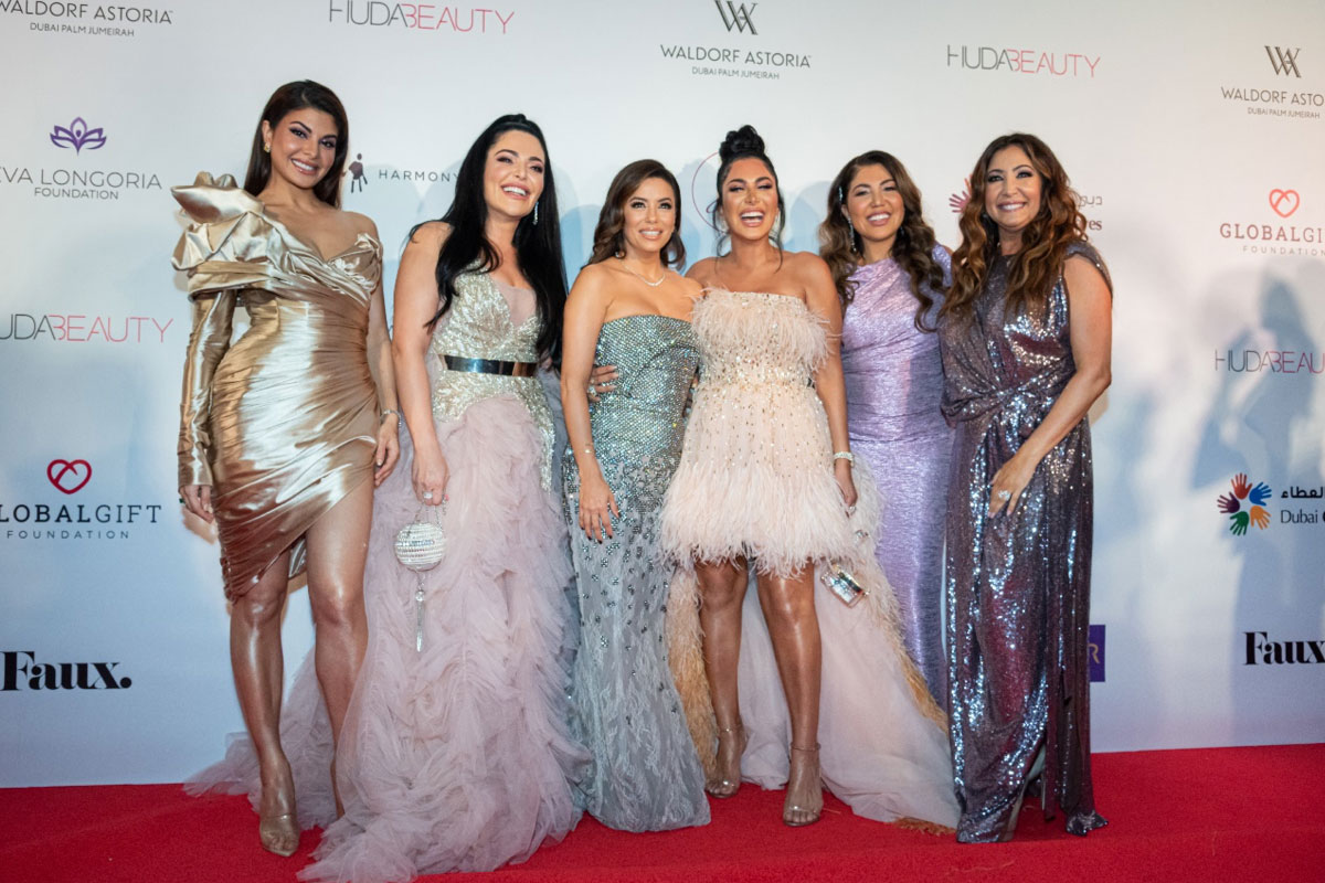 THE GLOBAL GIFT GALA IN FAVOR OF WOMEN'S EMPOWERMENT AND MAKING A DIFFERENCE THROUGH BEAUTY, SUCCESS AND PHILANTHROPY