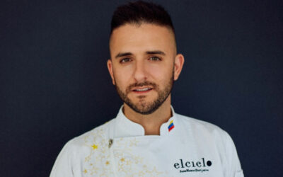 """Chef Juan Manuel Barrientos, Michelin star for """"The Global Gift Gala"""""""